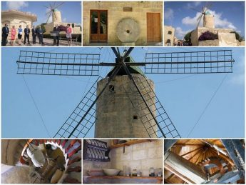 Ta' Kola Windmill restoration works inaugurated in Xaghra, Gozo