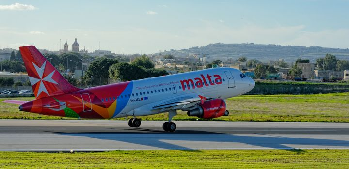Air Malta services including flights operating normally today