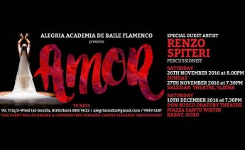 `Amor' at Don Bosco, Gozo with Alegria Academia de Baile Flamenco