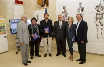 Gozo art exhibition of Art Camp 2015 and launch of Art Camp 2017