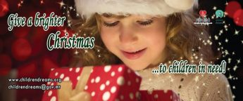 Please help over 1500 children make their Christmas dreams come true