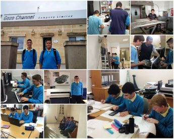 GC Secondary School form 4 students experience the world of work