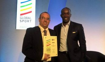 The Gozo Sports Board presented with international award