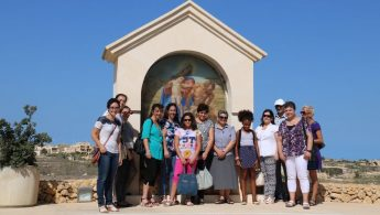 Pilgrimage to Ta' Pinu  led by the Handmaids of the Cenacle