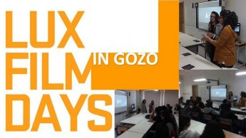 6th Form students in Gozo learn about the LUX film prize