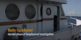 Second phase of Geophysical investigations completed for Gozo tunnel