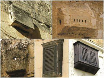 Properties scheduled in Gozo & Malta featuring rare Muxrabija feature