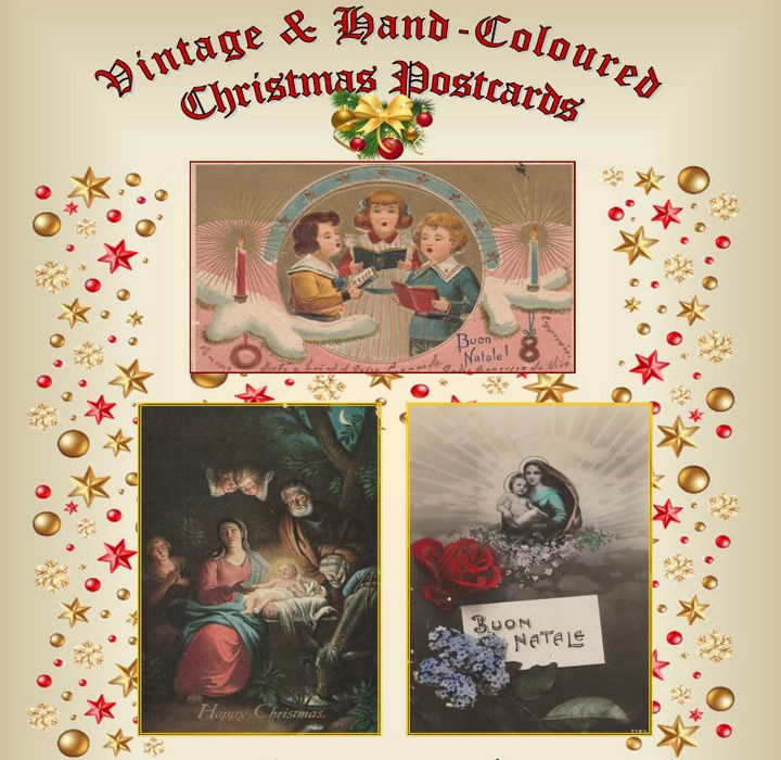 Christmas postcards exhibition at Il-Hagar Museum, Victoria