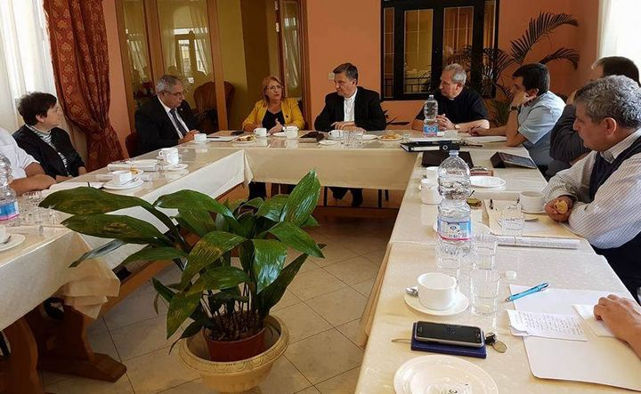 President visits the College of Parish Priests at the Gozo Diocese