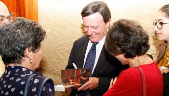 Literary enthusiasts attend Alfred Sant's `Western' launch