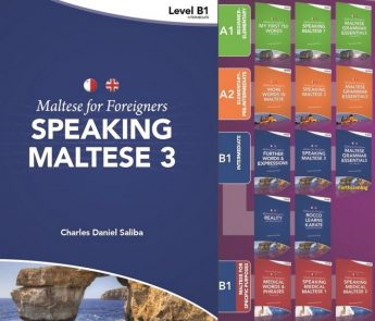 Speaking Maltese 3: Latest publication in Maltese for Foreigners series