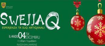 Swejjaq: Christmas artisan market in San Lawrenz