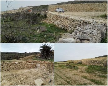 Ta' Muxi site works in accordance with approved method statement - PA