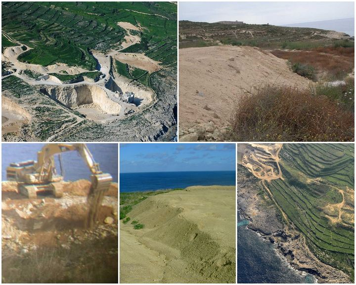 "FAA calls for action on ""unauthorised works"" at Ta' Muxi quarry"