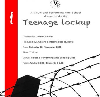 Teenage Lockup: Drama production by students of the VPA School