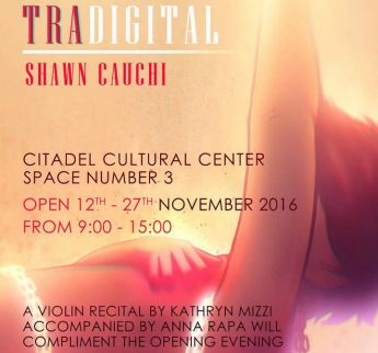 Tradigital: Citadel exhibition by Shawn Cauchi of the VPS Gozo