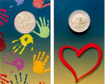 Solidarity Through Love - Commemorative €2 coins