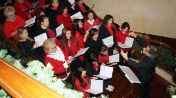 A New Year's Toast with the Gaulitanus Choir at San Lawrenz