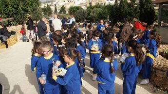 Hundreds of children visit Bethlehem f'Ghajnsielem Nativity Village