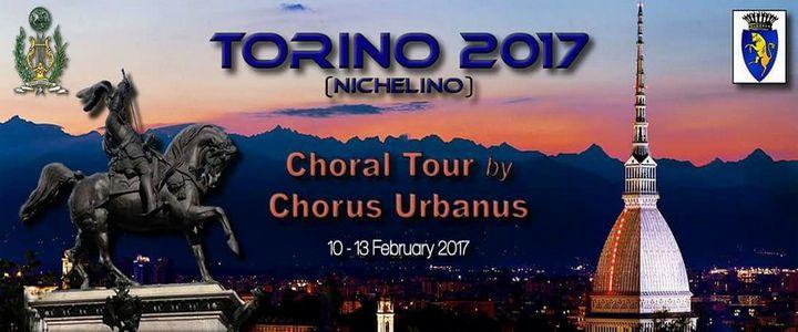 Chorus Urbanus choral tour to Torino and Nichelino in Italy