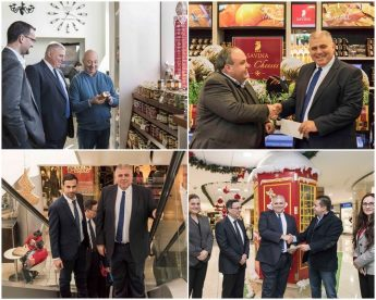 Minister for Gozo visits various Gozo business establishments