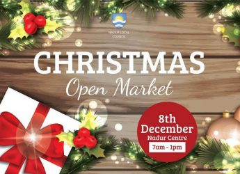 Open Christmas Market in St Peter & St Paul Square Nadur