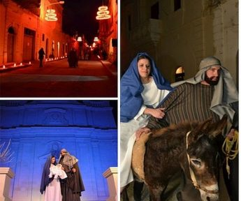 San Lawrenz Christmas Pageant - Villagers enact the greatest story every told