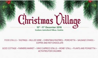 Christmas Village this weekend at the Gozitano Agricultural Village