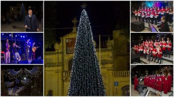 Christmas lights switch on marks start of festivities in Gozo