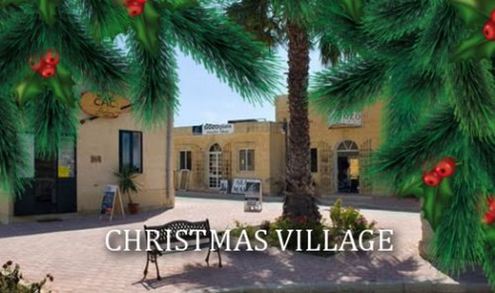 Christmas Village at Ta' Dbiegi Crafts in Gharb on Sunday