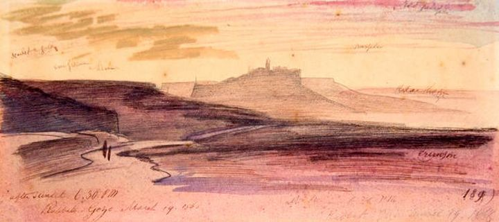 Edward Lear in Gozo - 150 years later: Exhibition at the Cittadella