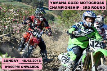 Yamaha Gozo Motocross 3rd round on Sunday weather permitting