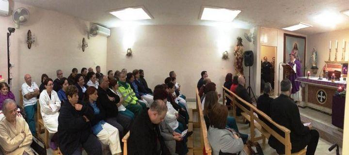 Feast of Joy at held at the Gozo General Hospital on Sunday