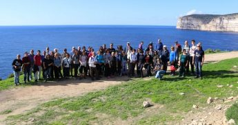 Birds and flora enjoyed on Gozo day trip organised by BirdLife Malta