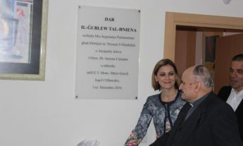 New home inaugurated in Ghajnsielem for persons with disability