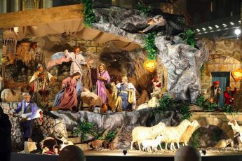 Traditional Maltese Crib inaugurated in St Peter's Square