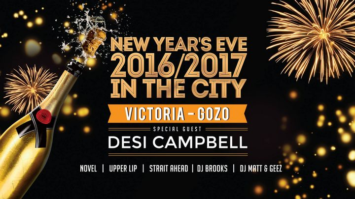 Celebrate 2017 in style with a New Year's Eve in the City