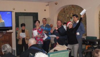 OASI staff, volunteers and service users visit the elderly in Gozo
