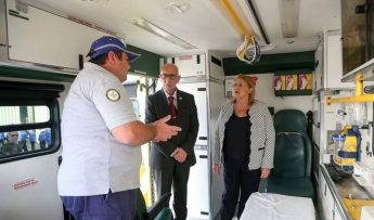 President visits Emergency Response & Rescue Corps Gozo