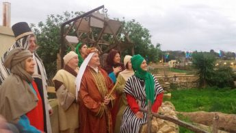 Five Italian delegations visit and participate in Bethlehem f'Ghajnsielem
