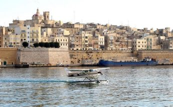 The return of seaplanes to the Valletta Grand Harbour