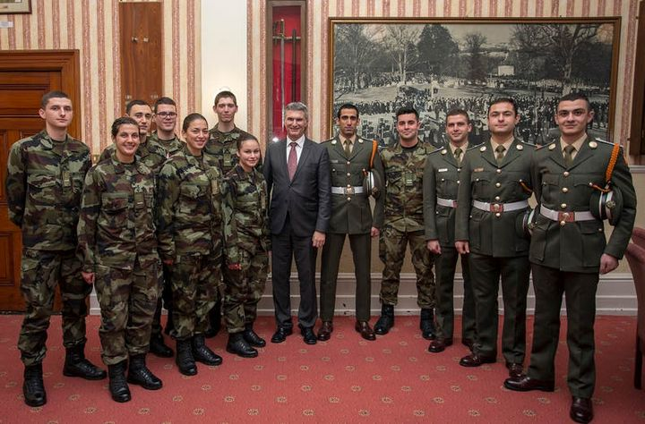 Minister Abela visits AFM cadets undergoing training in Ireland