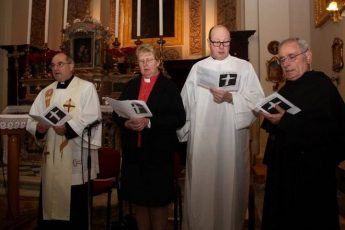 Christian Unity Service at Church of St Augustine, Gozo