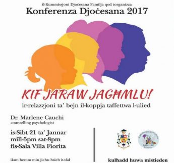 Annual conference by the Family Commission of the Gozo Diocese