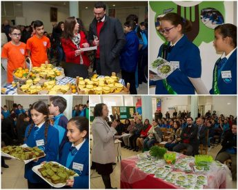 GC Middle School Open day with book launch - Foraging Gozo