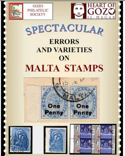 Errors on Malta Stamps: Gozo Philatelic Society Exhibition
