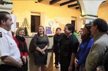 Dr Justyne Caruana visits Dar Padova Night Shelter in Ghajnsielem