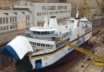 MV Malita back in action this week after extensive works at Palumbo