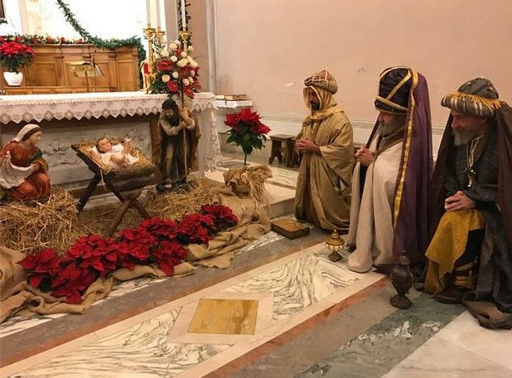 The Magi visit several locations in Italy on their journey to Gozo