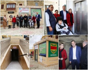 Inauguration of Xewkija public conveniences with accessibility for all
